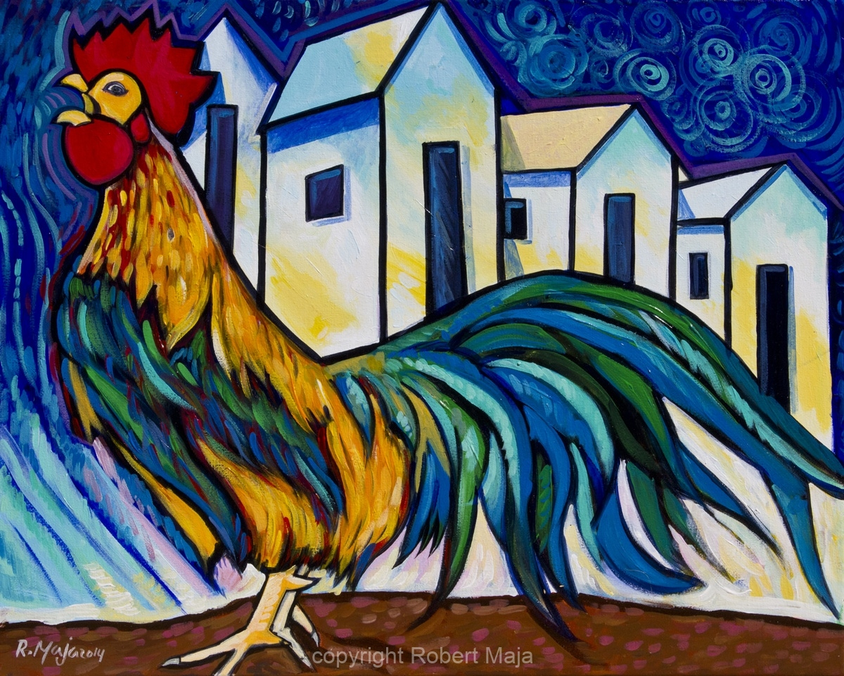 Happy Rooster